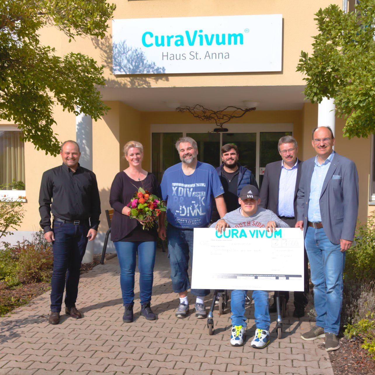 CuraVivum spendet für Projekt in Waischenfeld